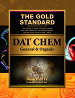 Gold Standard DAT General and Organic Chemistry (Dental Admission Test)