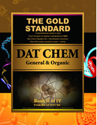 Gold Standard DAT General and Organic Chemistry Review (Dental Admission Test)