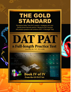 Gold Standard Dental School Interview Advice, Perceptual Ability Test (PAT) Practice and Full-length Exam